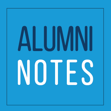 October Alumni Notes