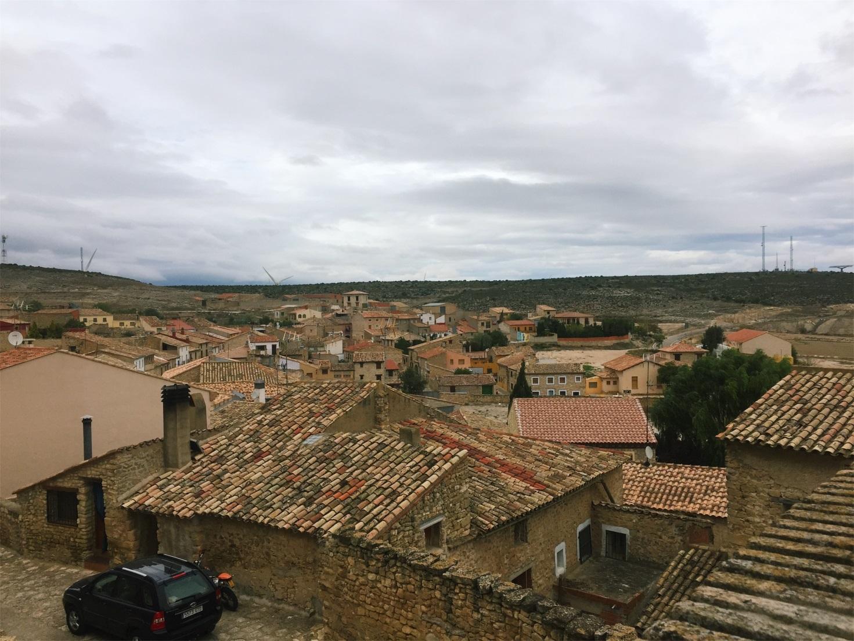 The pueblo of Fuendetodos, where Goya was born.