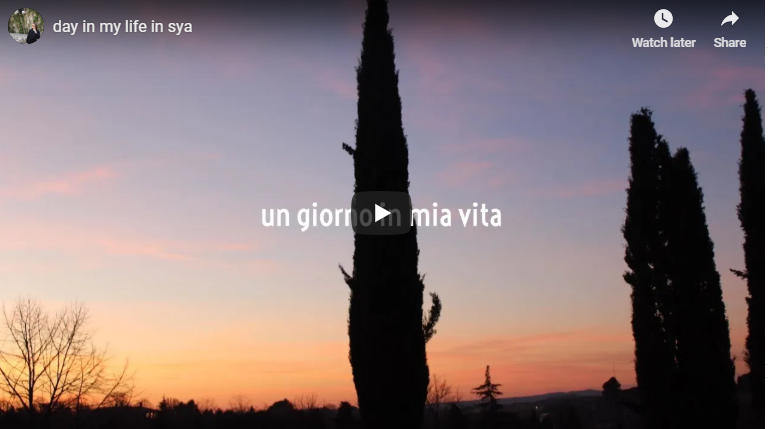 Video: A Day in My Life at SYA