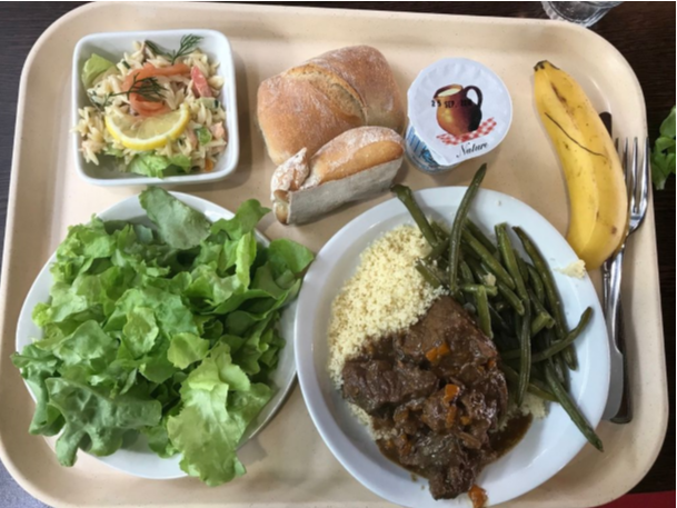 First Impressions: School Lunch