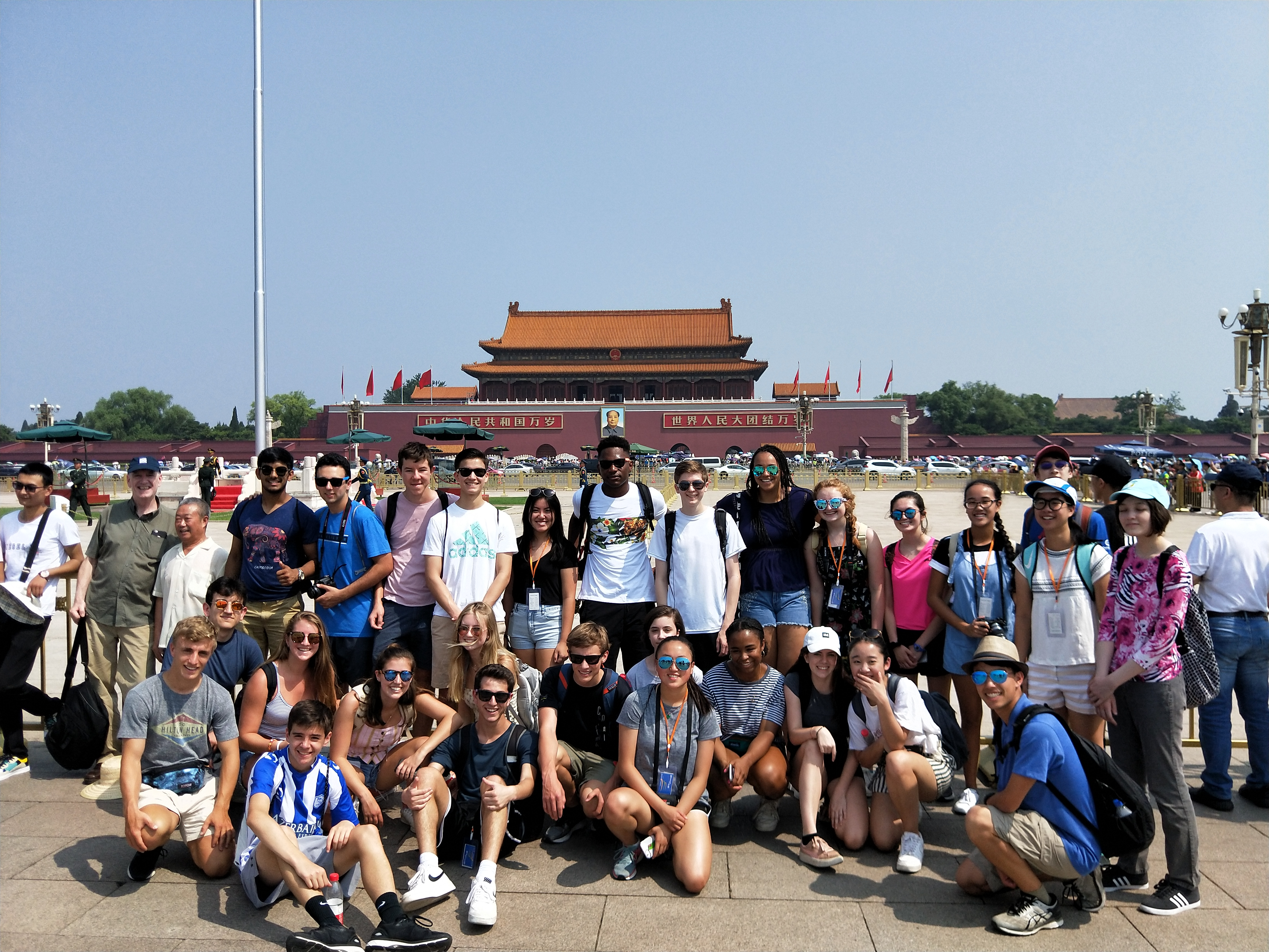 Group photo of SYA China Summer students