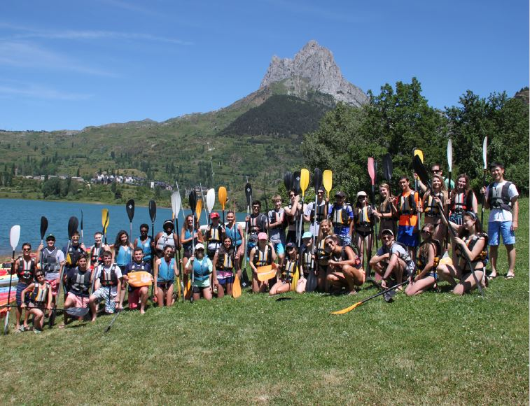 SYA Spain Summer group photo
